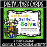 TEKS 3.8B / Distance Learning Digital Task Cards / Solving Graphs