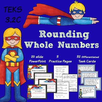 TEKS 3.2C Rounding