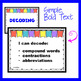 TEKS 3rd Grade ELAR * * NEW * * I Can Statements