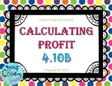TEKS 4.10B Calculating Profit