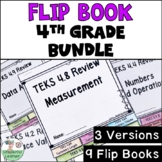 TEKS 4.2-4.10 Flipbooks BUNDLE