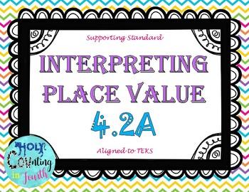 TEKS 4.2A  Interpreting Place Value