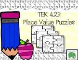 TEK 4.2B Place Value Puzzle