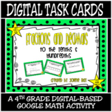 TEKS 4.2G, 4.2H / Distance Learning Digital Task Cards / F