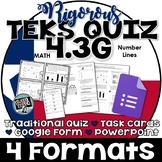 TEKS 4.3G  Task Cards, PowerPoint, Google Forms Quiz, Paper Quiz