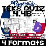 TEKS 4.4B Task Cards, PowerPoint, Google Forms Quiz, Paper Quiz