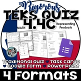 TEKS 4.4C  Task Cards, PowerPoint, Google Forms Quiz, Paper Quiz