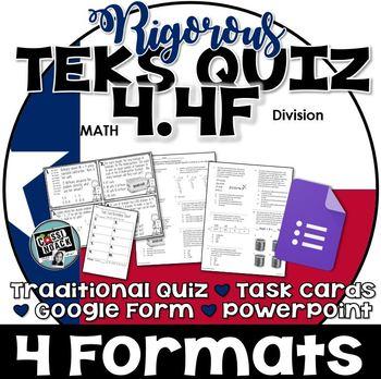 TEKS 4.4F  Task Cards, PowerPoint, Google Forms Quiz, Paper Quiz