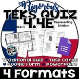TEKS 4.4E  Task Cards, PowerPoint, Google Forms Quiz, Paper Quiz