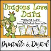 TEKS 4.9A, 4.9B / DATA TABLES / PRINTABLE AND DIGITAL