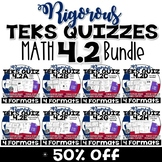 TEKS 4.2 BUNDLE  Task Cards, PowerPoint, Google Forms Quiz, Paper Quiz