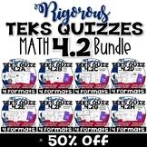 TEKS 4.2 Bundle- 10-Question assessment for each TEKS 4.2