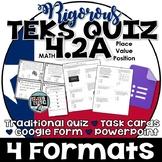 TEKS 4.2A  Task Cards, PowerPoint, Google Forms Quiz, Paper Quiz