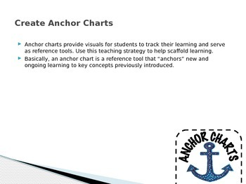 TEKS 4.2A Visuals of Anchor Charts, Foldable, and Activity for the New 2012 TEKS