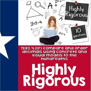 TEKS 4.2F Quiz- 10 rigorous and dual-coded questions to assess student learning