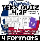 TEKS 4.2F  Task Cards, PowerPoint, Google Forms Quiz, Paper Quiz