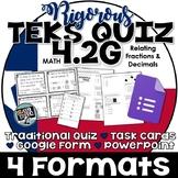 TEKS 4.2G  Task Cards, PowerPoint, Google Forms Quiz, Paper Quiz