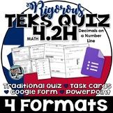 TEKS 4.2H  Task Cards, PowerPoint, Google Forms Quiz, Paper Quiz