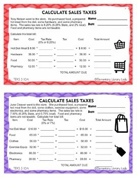TEKS 5.10A Taxes Personal Financial Literacy with Projects