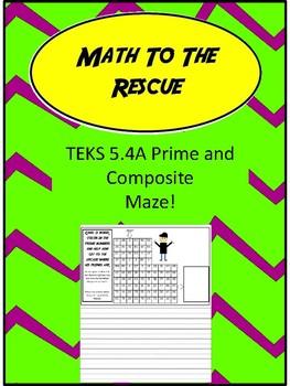 TEKS 5.4A Prime Maze