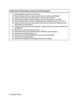 TEKS 5.11 Backwards Planning for 5th Grade