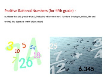 Math TEKS 5.3K Addition and Subtraction Vocabulary for Whole Numbers