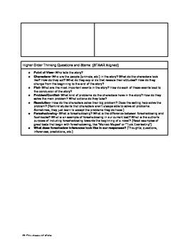 TEKS 5.6 Backwards Planning for 5th Grade