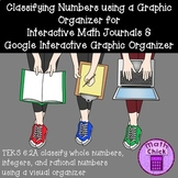 TEKS 6.2A Classifying Numbers Interactive Math Journal and Google Activity