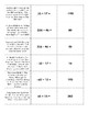 TEKS 6.3D or 7.3B Integer Matching