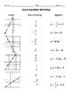 TEKS 7.7A Linear Equation Matching