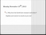 TEKS 7.9AB- 7th grade Earth and Space Unit