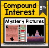 TEKS 8.12D ✩ Compound Interest ✩ Mystery Picture Activity