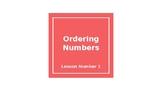 TEKS 8.2D Ordering Numbers-Teacher PowerPoint