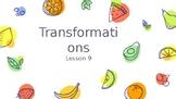 TEKS 8.10C Transformations TEACHER PowerPoint