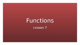 TEKS 8.5G Functions-Teacher PowerPoint