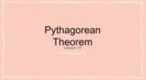 TEKS 8.7 C Pythagorean Theorem - Teacher Google Slides