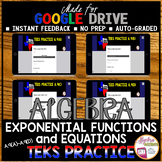 TEKS A.9 Exponential Functions and Equations (Made for Google Drive)