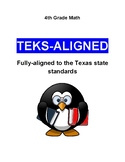 TEKS-Aligned 4th Grade Math Mini-Test