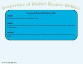 TEKS Aligned Properties of Matter Review