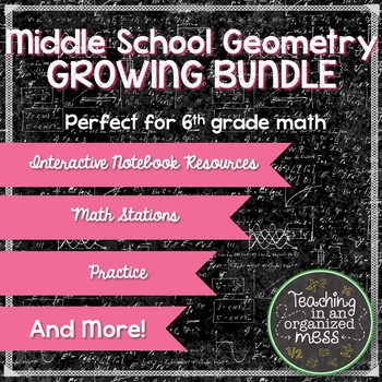 TEKS BUNDLE-Geometry and Measurement Grade 6