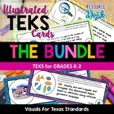 TEKS CARDS BUNDLE K-2 - Illustrated and Organized Objectiv