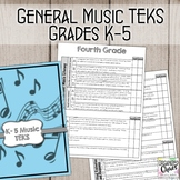 TEKS General Music Standards for K-5: Planning and Assessment