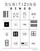 TEKS K.2D and 1.2A Subitizing Bingo (Numbers 1-20)