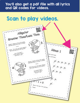 TEKS Kindergarten Math 34 Music Videos