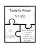 TEKS Math Process Standards Puzzle