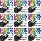 TEKS Numbers Notebook Kindergarten BUNDLE