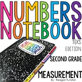 TEKS Numbers Notebook Measurement Second Grade