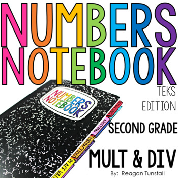 TEKS Numbers Notebook Multiplication Second Grade