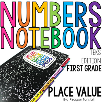 TEKS Numbers Notebook Place Value First Grade