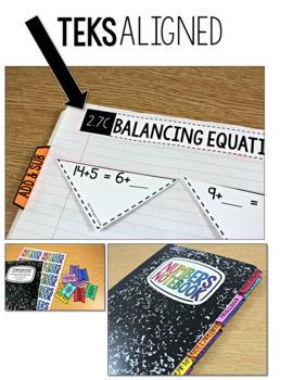 TEKS Numbers Notebook Second Grade BUNDLE